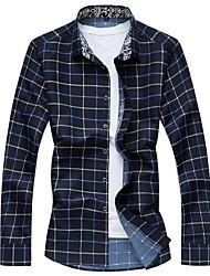 Men's Fashion Casual Long Sleeved Shirt Plus Sizes