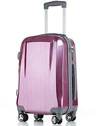 Unisex PVC / Metal Outdoor Luggage Purple / Blue / Silver / Black / Burgundy