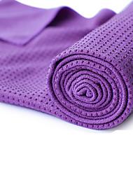 Yoga Serviettes Ne Dérape Pas Non Toxique Sans odeur Ecologique Séchage rapide Epais Légère Microfibre Bleu Orange Vert Violet