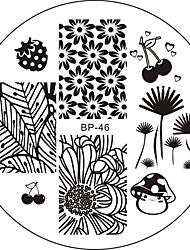 Nail Art Stamping Plate Стампер скреперов 6*6*0.1
