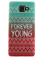 For Samsung Galaxy Case IMD / Pattern Case Back Cover Case Lines / Waves Soft TPU Samsung A7(2016) / A5(2016) / A3(2016) / A5 / A3