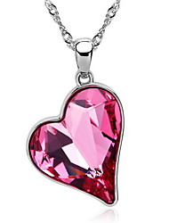 Women's Pendant Necklaces Pendants Crystal Heart Crystal Love Fashion Candy European Jewelry For Daily Casual 1pc