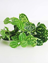 "11.9"" Green Artificial Plants Pilea Home Furniture Decoration 1pc/set"