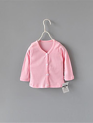 Girl's Casual/Daily Patchwork Suit & Blazer,Cotton Summer Pink / White / Gray