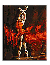 Art Balle Dancer Picture Painting By Bumbers Hand Painted Oil On Canvas Home Decor For Living Room
