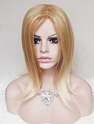 в Европе и Соединенных Штатах золотые мс сползать прямые 16-дюймовые длинные волосы парики