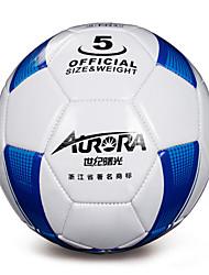 Soccers(Blanc / Bleu,Polyuréthane)Etanche