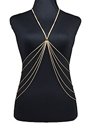Body Jewelry/Belly Chain Body Chain Gold Plated Fashion Gold 1pc
