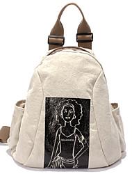 New Men/Women Fine Girls Boys linen Messenger Bag Backpack