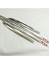 modelli Kia KX5 16 speciale modificazione del corpo adesivi decorativi in acciaio inox porte modanatura di crash paillettes