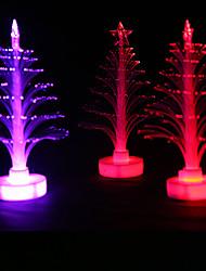 1PC Colorful Color Christmas  Fiber Led Lamp Night Light LED Drinkware Christmas Trees