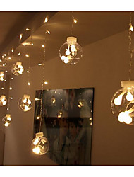 EU Plug Stars 220V 12LED Creative Small Bulb String Lights