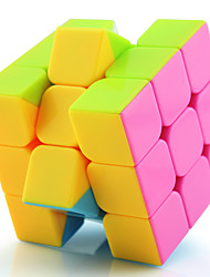 Yongjun® Cube velocidade lisa 3*3*3 profissional Nível Cubos Mágicos Preta / Branco / Rosa Plástico