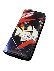 Cartoon Hellsing Zipper Long Purse