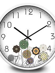 Sunflower Garden Decorative Stickers Home Furnishing Quartz Wall Clock