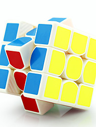 Yongjun® Smooth Speed Cube 3*3*3 Speed / Professional Level Magic Cube / Puzzle Toy White Plastic