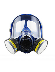 ST-M80-3 Head wearing type silicone comprehensive cover gas smell of acid and alkali paint pesticide