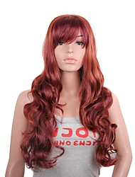 Cheap Fake Hair Wig Natural Wave Heat Resistant Synthetic Wigs