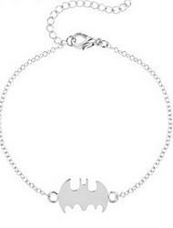 Kimiing Gold/Silver Bat Animal Shape Chain Bracelet Jewelry
