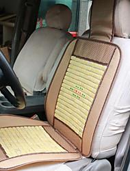 Sommer Einzelautositzabdeckung Bambuskissen