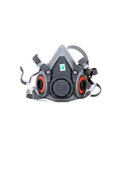 à double masque à gaz de boîte de filtrage spécial pour la peinture de pulvérisation (modèle 6200)