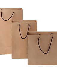 Spot Custom Bag Kraft Paper Bag Custom Blank Spot Reusable Shopping Bag Clothing