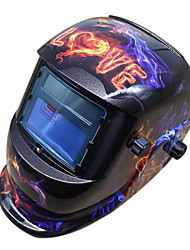 "DIN 4 Head-mounted Solar Energy Welding Mask Helmet. ""350"