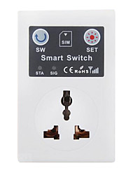 GSM Mobile Phone SMS Remote Control Socket Outlet Smart Socket