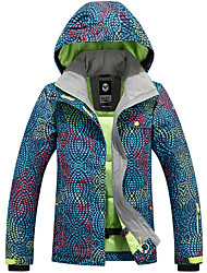 Ski Wear Ski/Snowboard Jackets Women's Winter Wear Polyester Winter Clothing Waterproof / Thermal / Warm / Windproof / WearableCamping /