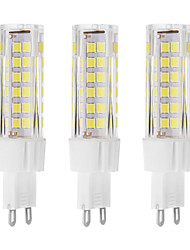 7 G9 Luces LED de Doble Pin T 75 LED Dip 650 lm Blanco Cálido / Blanco Fresco Decorativa AC 100-240 V 3 piezas