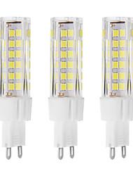 7 G9 LED à Double Broches T 75 LED Dip 650 lm Blanc Chaud / Blanc Froid Décorative AC 100-240 V 3 pièces