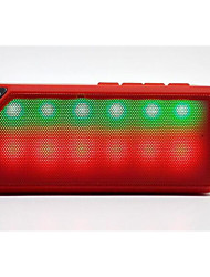 Mini Bluetooth Speaker X3s Colorful LED Lights Flashing Colorful Cube Car Audio