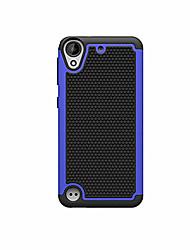Для Кейс для HTC Защита от удара / Рельефный Кейс для Задняя крышка Кейс для Армированный Твердый PC HTC HTC Desire 626 / Other