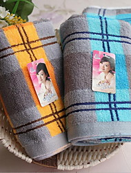 100% Pure Cotton Yarn Dyed The Wasa Grid Adult Towels