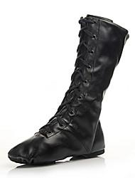 Customizable Women's Dance Shoes Canvas Canvas Jazz / Dance Sneakers Boots /Sneakers Low Heel Beginner