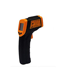 termômetro infravermelho (intervalo de medição: -32 ℃ ~ 320 ℃ (-26 ℉ ~ 608 ℉), resolução: 0,1 ℃ / 0,1 ℉)