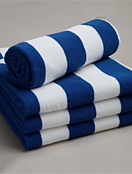 Serviette de bain Comme image,Fil teint Haute qualité 100% Coton Serviette