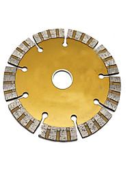 125 folha de slot de parede, lâminas de serra, discos de corte de mármore, especificações: 125 × 22,2 × 1,9, diâmetro exterior: 125mm)