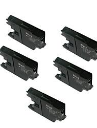 lc450bk lc400bk MFC-J6510DW cartuchos mfc-j6710 MFC-J6910DW 6710printer (quantidade: um parque de 5)
