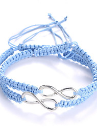 Fashion Retro Adjustable Eight Lucky Bracelet