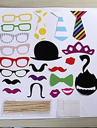 22 Pcs Party Photo Booth Props Holiday Decorations Party MasksCool For Holiday Party Graduation Birthdays