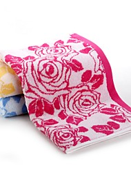 """1 PC Full Cotton Hand Towel 13"""" by 30"""" Super Soft Floral Pattern"""
