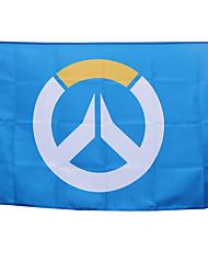Altri accessori Ispirato da Cosplay Cosplay Anime Accessori Cosplay Bandiera Blu Materiale macromolecolare Uomo / Donna