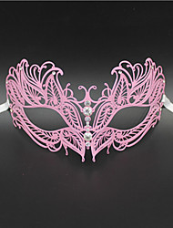 Women's Laser Cut Metal Venetian Butterfly Design Metal Mask1013B1