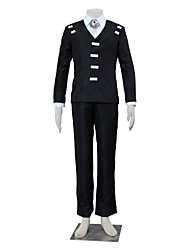 Inspired by SoulEater Death the Kid Anime Cosplay Costumes Cosplay Suits