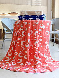 "1 PC Full Cotton Blanket 78"" by 70"" Dot Pattern"