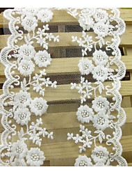 Fabric White Apparel Fabric & Trims Lace