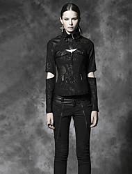 Damen Jacke  -  Retro/Leger Langarm Medium