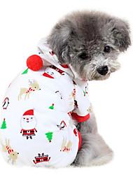 Dog Shirt / T-Shirt White / Pink Dog Clothes Spring/Fall Fashion
