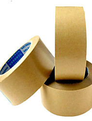 Wet Water Kraft Paper Tape, Folder Tendons Fiber Kraft Paper, 4.8Cm * 20Y
